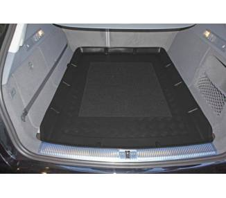 Boot mat for Audi A6 C7 Avant break à partir du 09/2011- avec rail