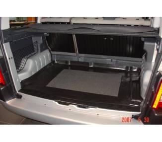 Kofferraumteppich für Peugeot Partner von 1998-2007 mit Modubox rechts