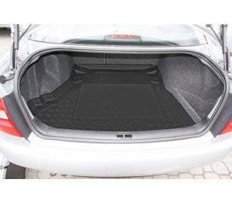Boot mat for pour Audi A4 (B5) de 1995-2001 berline 4 portes Sans chargeur CD avec système navigation à gauche