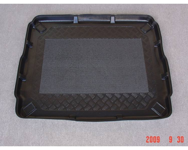 Boot mat for Peugeot 3008 à partir de 2009- surface de chargement surelevé
