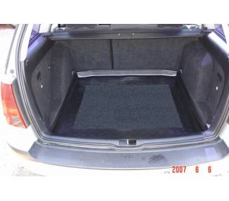Boot mat for Volkswagen Golf IV break 5 portes de 1998-2007 coffre inferieur