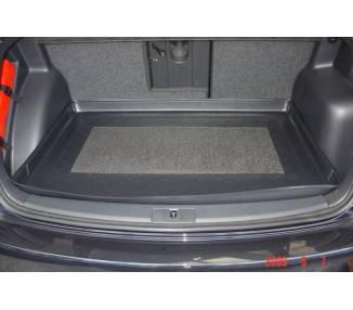 Tapis de coffre pour Volkswagen Golf V Plus Berline 5 portes 2005-2014 siège arrière avancés