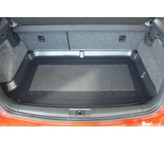 Boot mat for Volkswagen Polo 6R à partir de 2009- surface de chargement surelevé