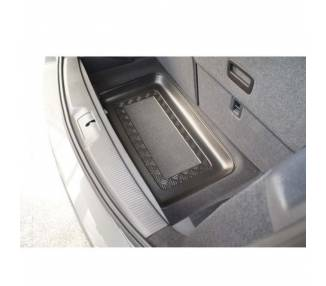 Boot mat for Volkswagen Sharan II monospace 7 places à partir de 2010-