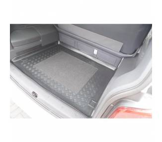 Boot mat for Volkswagen T5 Multivan Long monospace à partir de 2003-