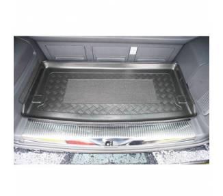 Tapis de coffre pour Volkswagen T5 Multivan Short monospace à partir de 2003-