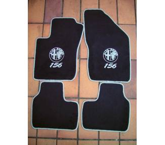 Car carpet for Alfa Romeo 156