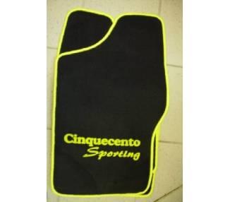Car carpet for Fiat Cinquecento Sporting