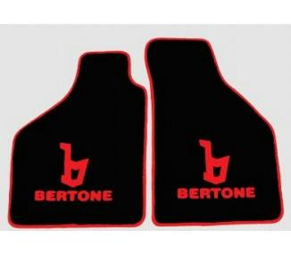 Tapis de sol pour Fiat X1/9 Bertone