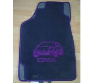 Tapis de sol pour Honda CRX ED9 EE8