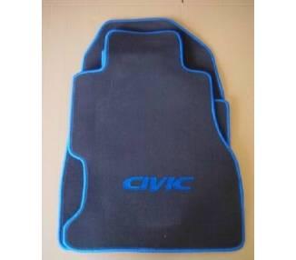 Car carpet for Honda Civic EU8 5 portes de 2001-2006