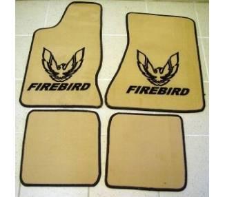 Car carpet for Pontiac Firebird de 1982-1992