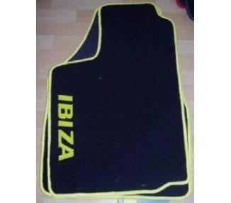 Car carpet for Seat Ibiza 1 (021A) de 1984-1993