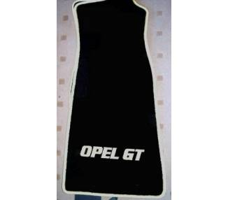 Car carpet for Opel GT Alte Modell jusqu'a 2006