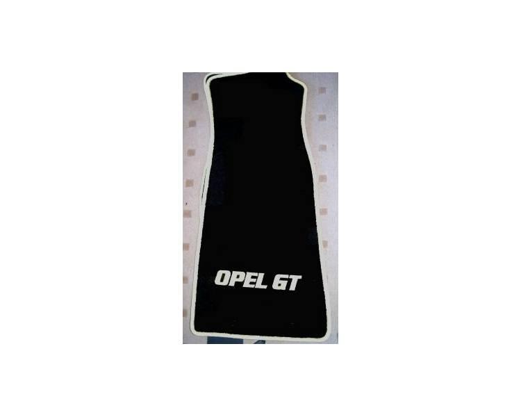 Car carpet for Opel GT Alte Modell jusqu'a 2006