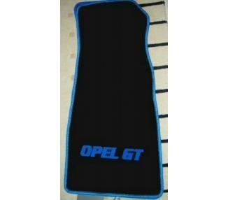 Car carpet for Opel GT Neu Modell à partir de 2007