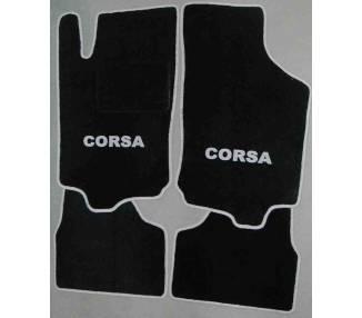 Car carpet for Opel Corsa C