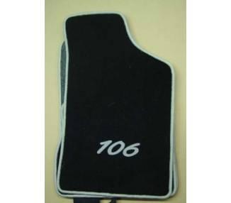 Car carpet for Peugeot 106