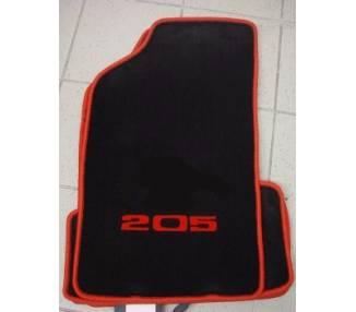 Car carpet for Peugeot 205 GTI