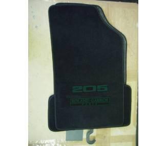 Car carpet for Peugeot 205 Roland Garros