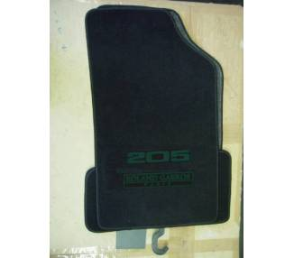 Tapis de sol pour Peugeot 205 Roland Garros