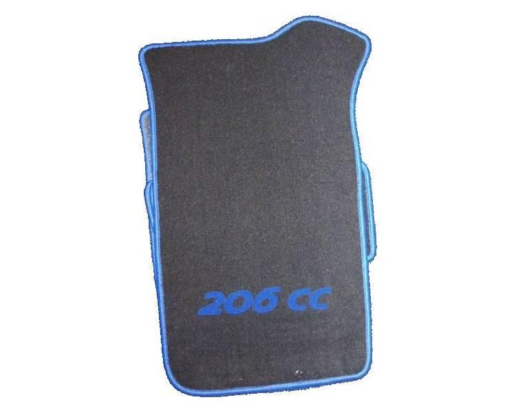Car carpet for Peugeot 206 CC