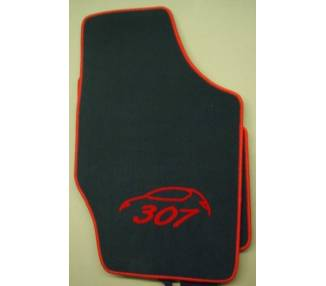 Car carpet for Peugeot 307