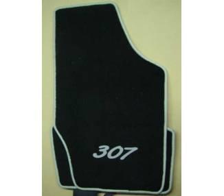 Car carpet for Peugeot 307