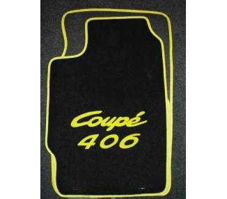 Car carpet for Peugeot 406