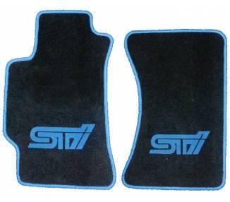 Car carpet for Subaru STI