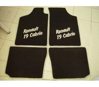 Car carpet for Renault 19