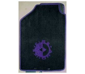 Car carpet for Volkswagen Golf 2 Fire and Ice