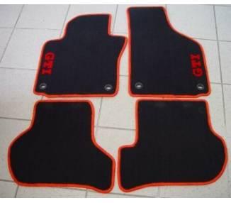 Car carpet for Volkswagen Golf 5 GTI