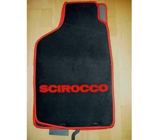 Car carpet for Volkswagen Scirocco jusqu'a 1992