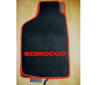 Car carpet for Volkswagen Scirocco à partir du 09/2008
