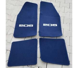 Car carpet for Peugeot 205 CTI