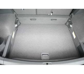 Boot mat for pour VW Tiguan II à partir de 2016 SUV 5 portes Coffre bas Modèle avec surface de chargement variable s
