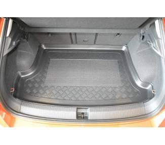 Boot mat for pour VW T-Roc (A1) à partir de 2017 SUV 5 portes Coffre haut Modèle avec surface de chargement variable