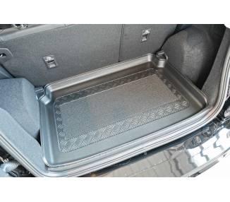 Boot mat for pour Ford EcoSport III à partir de 2018 SUV 5 portes Coffre bas Avec surface de chargement réglable en p