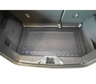 Boot mat for pour Ford Fiesta VIII à partir de 2017 berline 5 portes Coffre bas