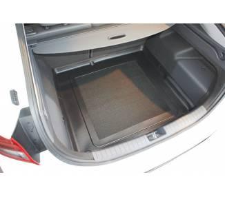 Boot mat for pour Hyundai Ioniq Hybrid à partir de 2016 berline 5 portes Coffre bas modèle sans double fond
