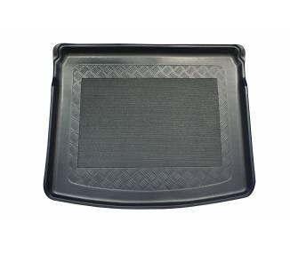 Kofferraumteppich für Jeep Compass II (MP) ab 2017 SUV 5 Türen auf untere und obere (gerade Ladekante) Ladeflaeche des Variobod