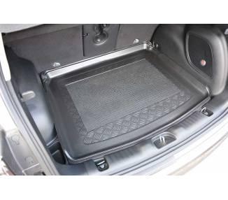 Tapis de coffre pour Jeep Compass II (MP) à partir de 2017 SUV 5 portes Surface de chargement en position haute/ rabaissé