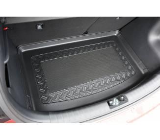 Tapis de coffre pour Kia Rio IV (YB) à partir de 2017 berline 5 portes Coffre bas Modèle sans casier