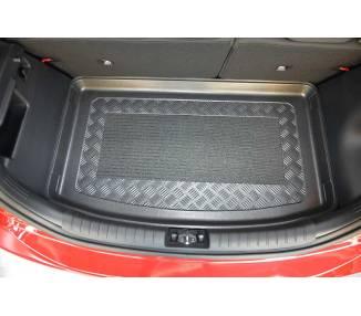 Boot mat for pour Kia Rio IV (YB) à partir de 2017 berline 5 portes Coffre haut Modèle avec surface de chargement var