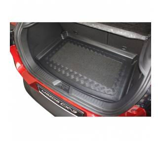 Tapis de coffre pour Mazda CX 3 à partir de 2015 SUV 5 portes Pour le modèle avec surface de chargement variable