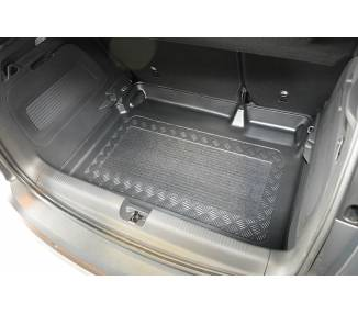 Boot mat for pour Opel Crossland X à partir de 2017 SUV 5 portes Coffre bas Modèle avec la préparation pour la surfac