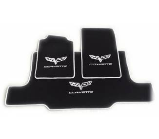 Car carpet for Chevrolet Corvette C6 cabrio avec coffre
