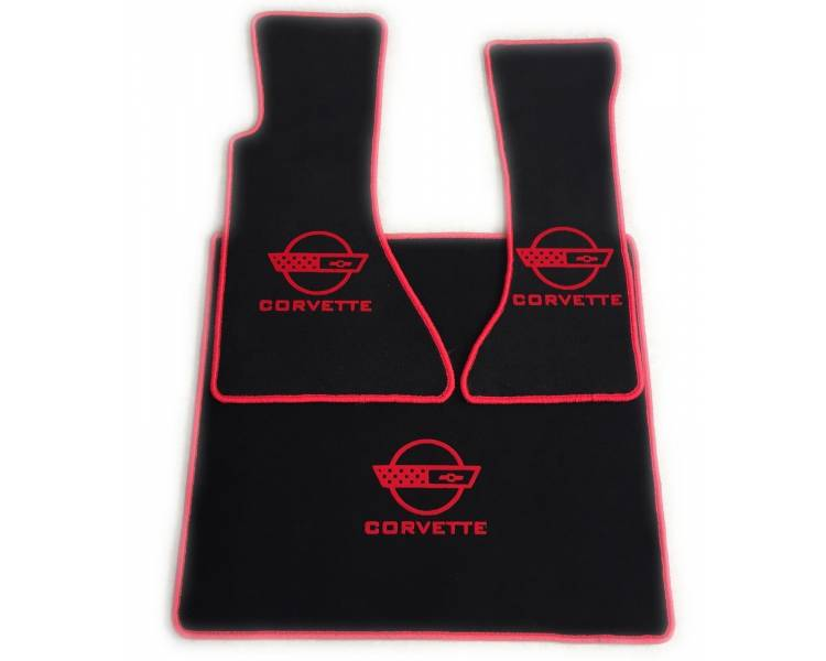 Car carpet for Chevrolet Corvette C4 avec coffre de 1984-1996
