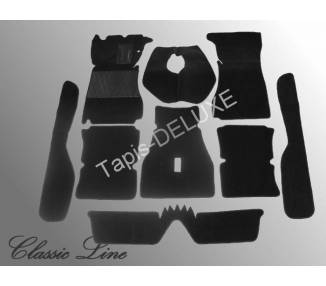 Complete interior carpet kit for Alfa Giulia Sprint GT/GTV Series 1 (only LHD)